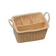 Košík na príbory 4 přihh.rattan 40179