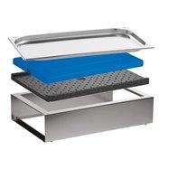 Bufetový modul ICE , nerez, výška 13 cm