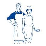 Igelitová jednorazová zástera na použitie v potravinárstve Počet kusov v balení: 50   Rozmer: 2 x 24,5 x 35 cm