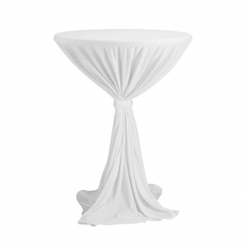 Venice - obrus na koktejlový stôl ∅ 80 - 85 cm so stuhou