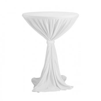 Sidney - obrus na koktejlový stôl ∅ 70 cm so stuhou
