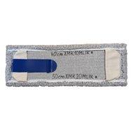 Klaro mop systém (jazyk + vrecká) - plochý mop 40 aj 50 cm mikrovlákno melír, bezdotykové vytieranie