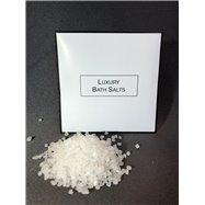 Luxusná kúpeľová soľ WHITE & BLACK