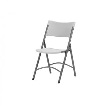 Plastová skladacia stolička ZOWN OTTO CHAIR - sivá