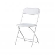 Plastová skladacia stolička Alex chair - biela