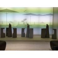 Dizajnová barová stolička Fura