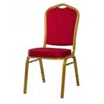 Banketová stolička JAZZ je pohodlná stolička s oceľovým rámom.