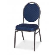 Banketová stolička HERMAN - námornícka modrá