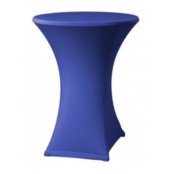 Elastický poťah na stoly s doskou Ø 70 cm + čapica ZADARMO, 180 g/m², Modrá
