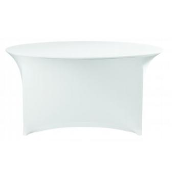 Elastický poťah (čiapka) na dosku stola Ø180cm