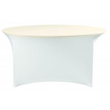 Elastický poťah (čiapka) na dosku stola Ø150cm