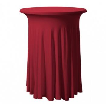 Elastický poťah GALA na koktejlové stoly Ø 80 - 85 cm