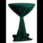 Obrus VENICE na koktejlové stoly s doskou s priemerom ∅ 80 - 85 cm a výškou cca 110 cm. 100% polyester so stuhou vo farbe obrusu