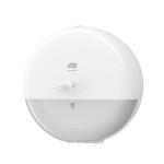 Plastový zásobník TORK SmartOne na toaletný papier so stredovým odvíjaním a systémom dávkovania po jednotlivých útržkoch. Znižuje Vašu spotrebu papiera až o 40%.