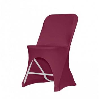 Stretch poťah na stoličku ALEX, Bordó