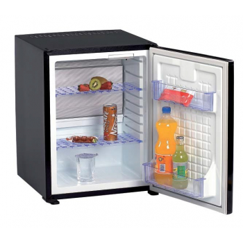 Minibar SM401PLT, 40 l, LED svetlo, automatika, čierny, zabudovateľný