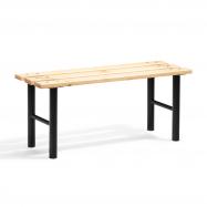 Šatníková lavice, 1000 mm, borovicové drevo