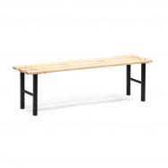 Šatníková lavice, 1500 mm, borovicové drevo