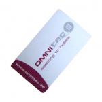 Užívateľská bezdotyková Mifare karta s logom Gaudi. Kartu je možné nechať opatriť Vaším vlastným potlačou. (Služba je spoplatnená, cenu si prosím vyžiadajte)