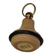 Kľúčenka KD2A - farba prírodná
