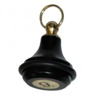 Kľúčenka KD2B - farba čierna
