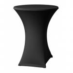 Elastický poťahELAS LITE na koktejlové stoly Ø 70 cm, čierny