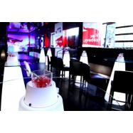 Svietiaci koktejlový stôl PEAK
