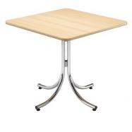 Skladací kaviarenský stôl KLIK-KLAK LOW, 80 x 80 cm