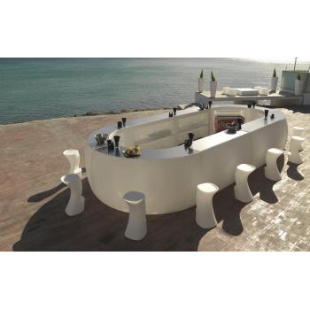 Dizajnový barový pult FIESTA BAR rovný diel