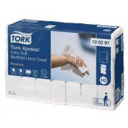 Tork Xpress® papierové uteráky  4 / M 2100 ks, 21,2 x 34 cm, 21 bal., Multifold extra jemné biele