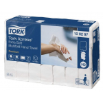 Systém Tork Xpress® papierové uteráky Multifold je vhodný na prostredie vyžadujúce ako komfort, tak hygienu - ako sú reštaurácie, kancelárie a zdravotnícke zariadenia. Počet vrstiev 2, kartón 2100 kusov (21 balíčkov po 100 kusov), rozmer uteráka (š xd): 21,2 x 34 cm, váha kartónu: 7,5 kg