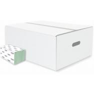 Skladané papierové uteráky Harmony Professional ZZ, rec., 20x200 ks, zelené