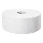 Systém Tork Jumbo (T1) je vhodný navysoko frekventované miesta. Systém T1 - Systém toal. papiera Jumbo,, Počet vrstiev: 2, Farba: Biela, Rezba: ÁNO, Dĺžka rolky: 360.0 m, Počet útržkov: 1800, Priemer rolky: 26.0 cm, Vnútorný priemer jadra: 5.9 cm
