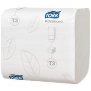 Tork toaletný papier T3 8712 ks, 2-vrstvový, 11 x 19 cm, 36 bal.,  Folded biely