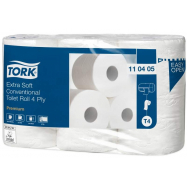 Tork toaletný papier 19 m, 4-vrstvový, Ø 11,9 cm,  42 roliek, (T4) extra jemný
