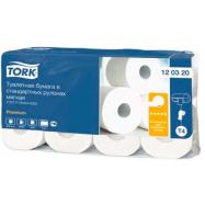 Tork Advanced 2-vrstvový toaletný papier - konvenčný kotúč, bal./8ks
