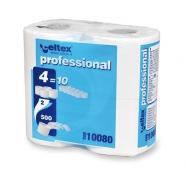 Toaletný papier v konvenčných roliach CELTEX Professional Compact