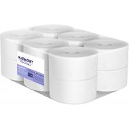 Toaletný papier Harmony Professional Mini Jumbo, 2vr., Recyklát, biely 65%, 12x117,5 m
