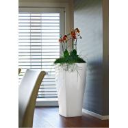 Vonkajší kvetináč Quadrum LACCATI - lakovaný