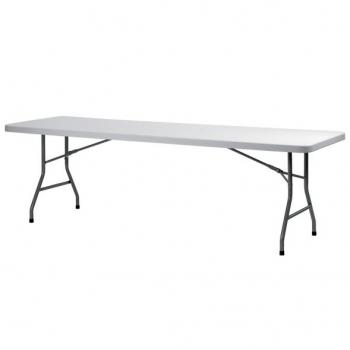 Cateringový skladací stôl ZOWN XL240 - 244 x 76 cm