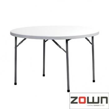 Rautový skladací stôl ZOWN Planet 120 - ø122 cm