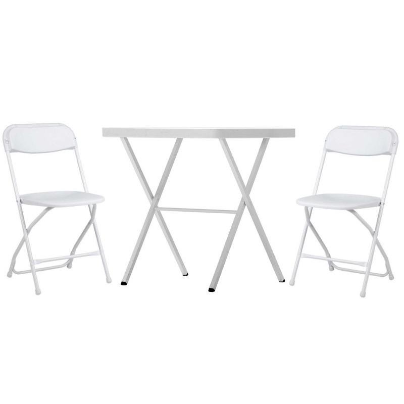 Set ARUBA + 2x ALEX CHAIR, biely