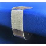 Univerzálne rautové spony na dosky s hrúbkou 32 - 65 mm, 25ks