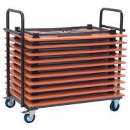 Transportný vozík na skladacie stoly