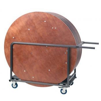 Transportný vozík na skladacie okrúhle stoly