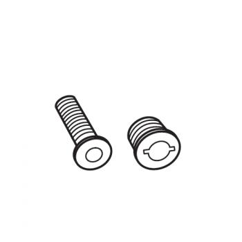 Krátka skrutka upevňovacej sady