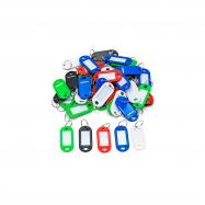 Plastové štítky na kľúče, bal. 50 ks