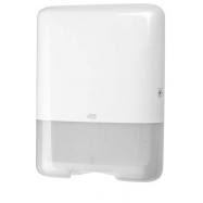 Tork Singlefold / C-fold zásobník na papierové uteráky - biely