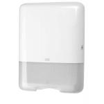 Rad Tork Elevation je séria hladkého a funkčného vzhľadu v modernom duchu, ktorý pasuje do prostredia väčšiny toaliet a umyvární. Systém: H3 - Systém so skladaním C-fold a Singlefold (ZZ); Materiál: Plast; Farba: Biela; Šírka: 33,3 cm; Výška: 43,9 cm; Hĺbka: 13,6 cm