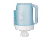Tork Zásobník prenosný na kotúče so stredovým odvíjaním - Mini, farba tyrkysová / biela